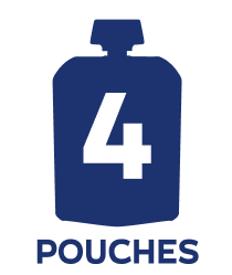 4 pouch badge