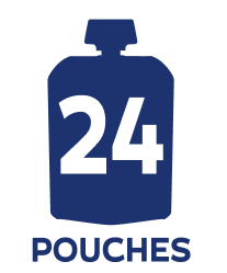 24 pouch badge