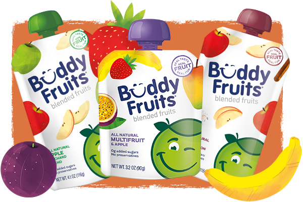 Buddy Fruits family of products