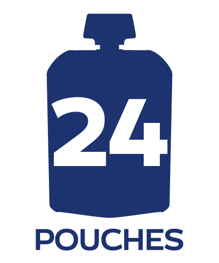 twenty four pouch badge